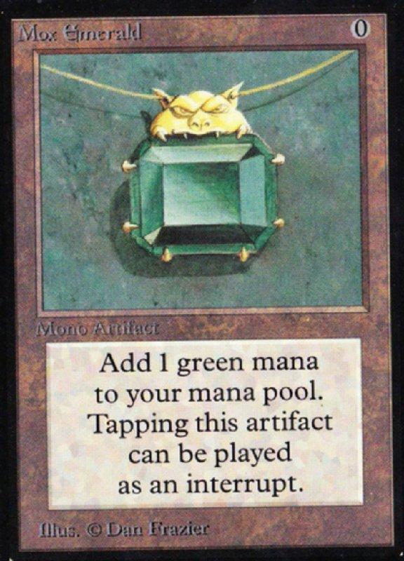 mox emerald-magic-cards