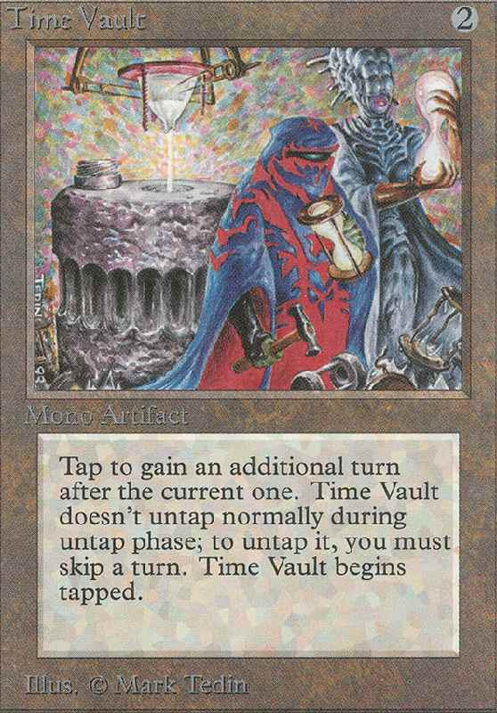 time-vault-magic-card